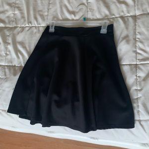 Forever 21 Skirts - Black Skater Skirt